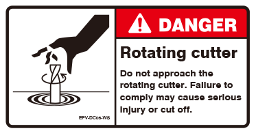 Rotating cutter