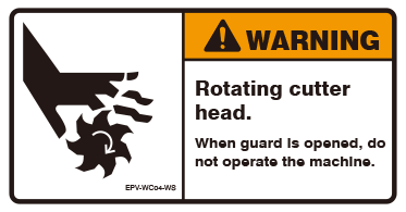 Rotating cutter head